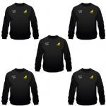 Custom Embroidered Sweatshirt 5 Pack (Add Your Logo)
